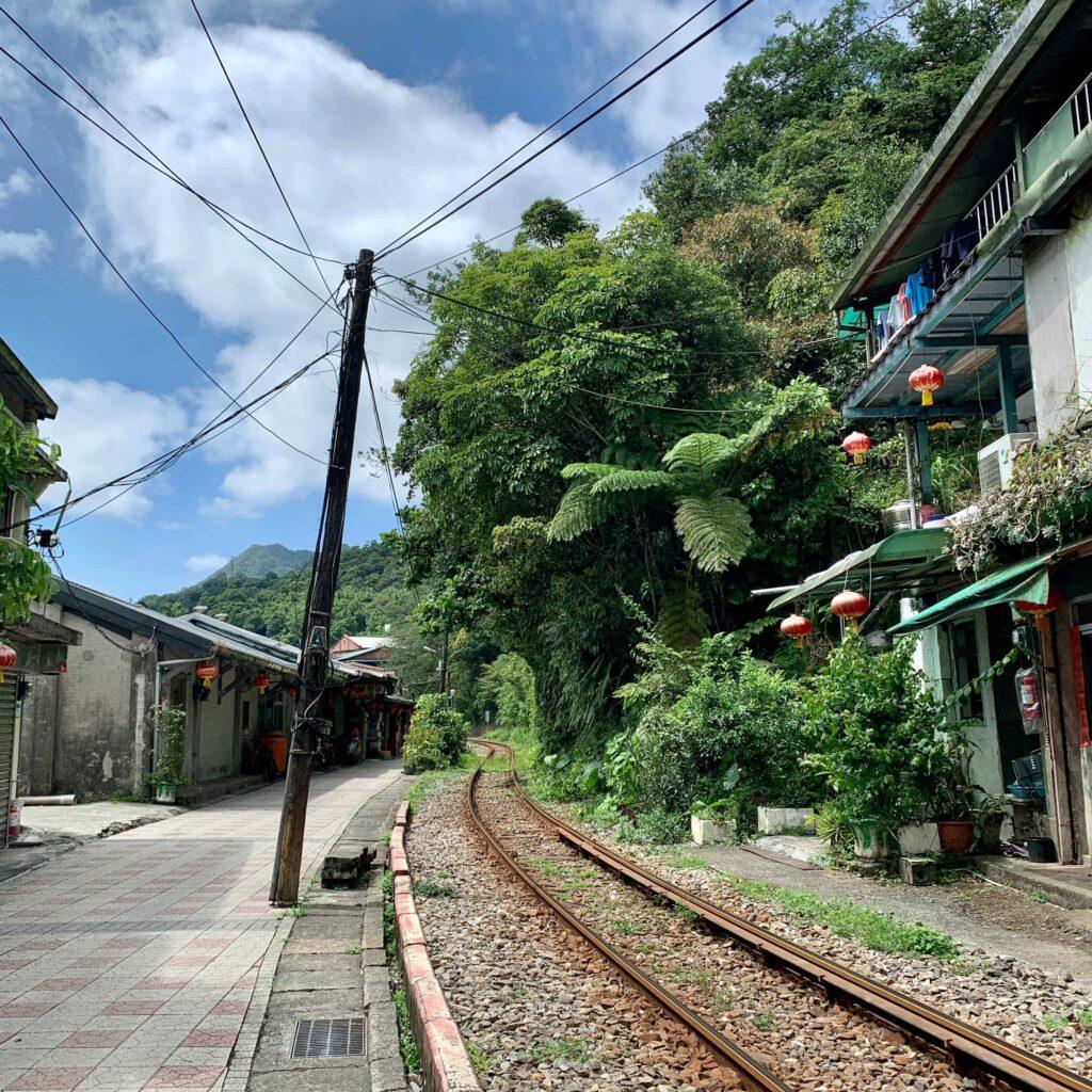 菁桐車站|菁桐老街|火車軌道